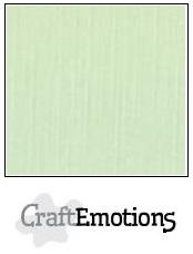 CraftEmotions linnenkarton - groen LHC-09 A4 250gr