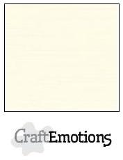 CraftEmotions linnenkarton ivoor 30,5x30,5cm