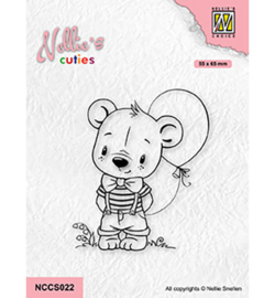Nellie`s Choice - NCCS022 - Boy with Balloon