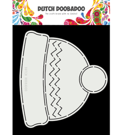 Dutch Doobadoo - 470713748 - Card Art Winter Hat