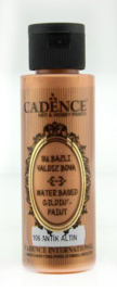 Cadence Gilding Metallic acrylverf Antiek goud 01 035 0106 0070 70 ml