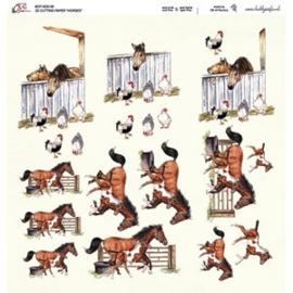 Crea Motion - 30x30 - 3D knipvel - Horses