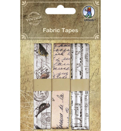 Ursus - Fabric Tapes, Cloth Ribbon self-adhesive motif 1
