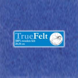 De Witte Engel - Vilt 1,2 mm - Hemelsblauw 601 (incl. bijpassend garen)
