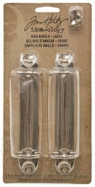 Tim Holtz Idea-Ology 2-Ring Binders Large