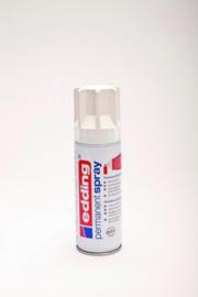 Edding 5200 permanent spray mat verkeerswit (200ml)