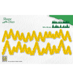 Nellie`s Choice - SD184 - Shape Dies -pine forest-