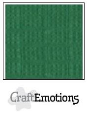CraftEmotions linnenkarton - loofgroen LHC-63 A4 250gr