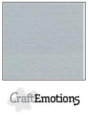 CraftEmotions linnenkarton -grijs LHC-71 A4 250gr