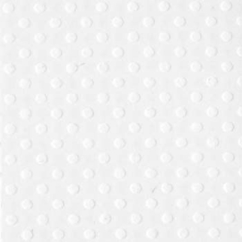 """Bazzill dot Swiss 12x12"""" salt"""