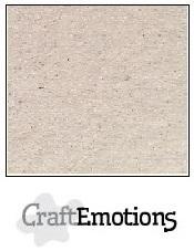 CraftEmotions Karton Kraft - Krijtwit [1 vel]