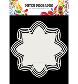 Dutch Doobadoo - 470713177 - Dutch Shape Art Octo Flower