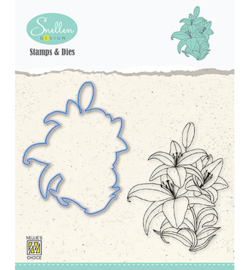 Nellie`s Choice - HDCS005 - Flowers serie: -Lily-