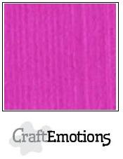 CraftEmotions linnenkarton - koraalmagenta LHC-53 A4 250gr