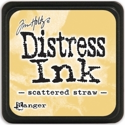 Tim Holtz distress mini ink scattered straw