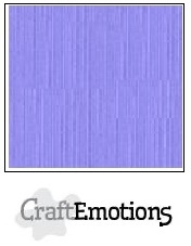 CraftEmotions linnenkarton heide pastel 30,5x30,5cm