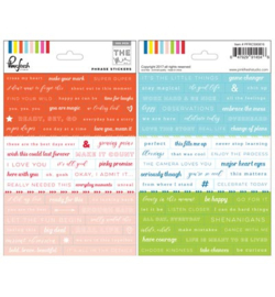Pinkfresh Studio The Mix No. 1: Phrase stickers