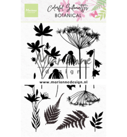 Marianne D Stempel - CS1048 - Colorful Silhouette - Botanical