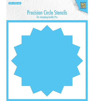 Nellie`s Choice MMPCS003 - 16-point circle (for stampingbuddy-pro)
