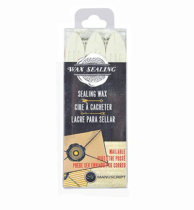 MSH7633PRL - Pearl - Sealing Wax with Wick