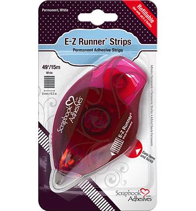 E-Z Runner REFILLABLE - STRIPS - permanent