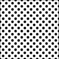 """TCW Sjabloon 6x6"""" Mini Swiss Dot"""