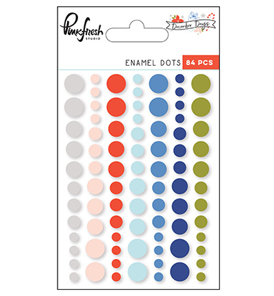Pinkfresh Studio PFRC500717 - Enamel dots