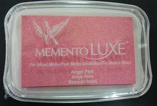 Memento inktkussen De Luxe Angel Pink ML-000-404