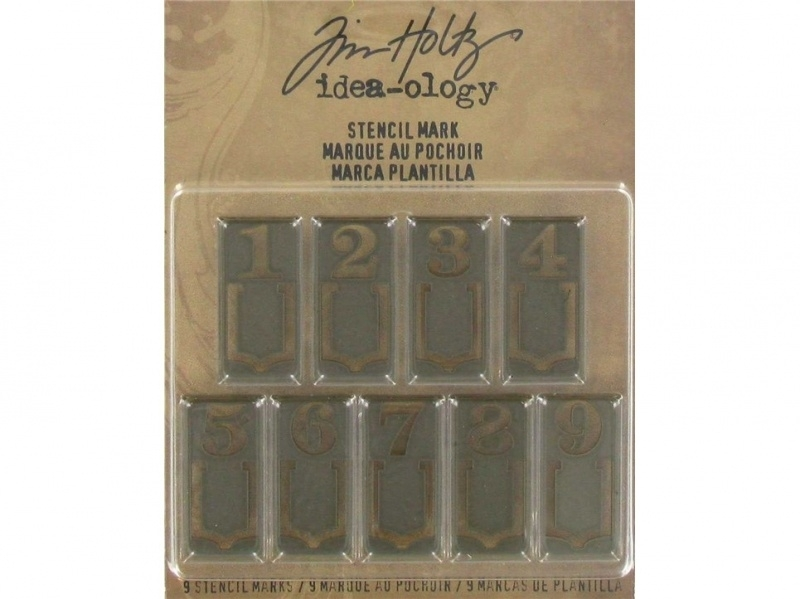 Tim Holtz Idea-Ology Stencil Mark