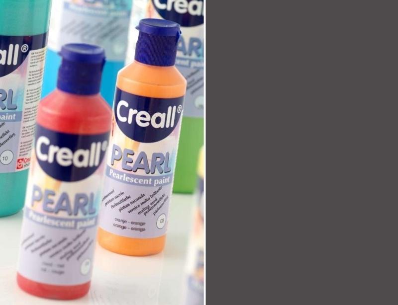 CE301701/0617- Creall Pearl parelmoerverf 80ML zwart