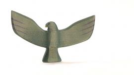 Adelaar met vleugels, Ostheimer