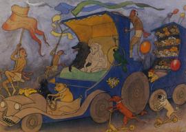 Hondenvoertuig, Ernst Kreidolf