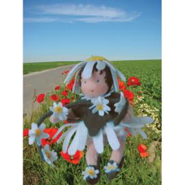 Bloemenkindjes: Margriet, atelier de Witte Engel