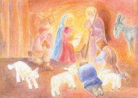 Aanbidding der Herders 2, Dorothea Schmidt