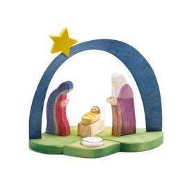 Kerstmis Kaarsenhouder, Ostheimer