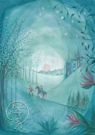 Horse in a Forest, Bijdehansje