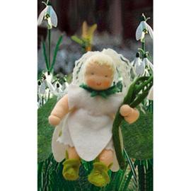Bloemenkindjes: Sneeuwklokje, atelier de Witte Engel
