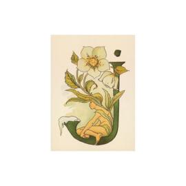 J letterkaart, Adelborg