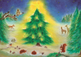 Kerstfeest in het bos, Baukje Exler
