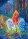 De princes rijdt naar het slot van de beer, Angela Koconda