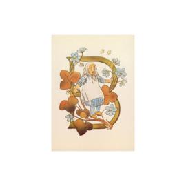 B letterkaart, Adelborg