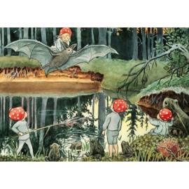 Kabouterkinderen aan het woudmeer, Elsa Beskow