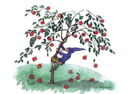 Appelsschudden, Ernst Kreidolf