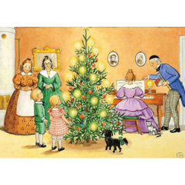 Kerstfeest, Elsa Beskow