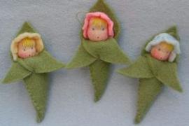 Drie paastakbaby's