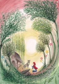 Little Red Riding Hood, Bijdehansje