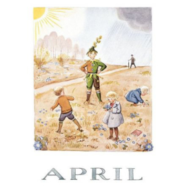Maand April, Elsa Beskow