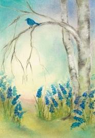 Blauwe druifjes, Baukje Exler
