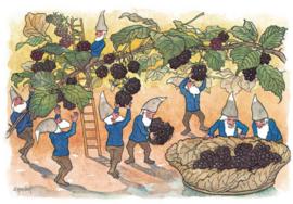 Dwergen bij het bramenplukken, Ernst Kreidolf