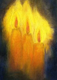 Drie kaarsen, Angela Koconda